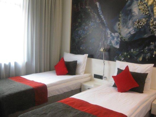 Bohem Art Hotel: Notre chambre