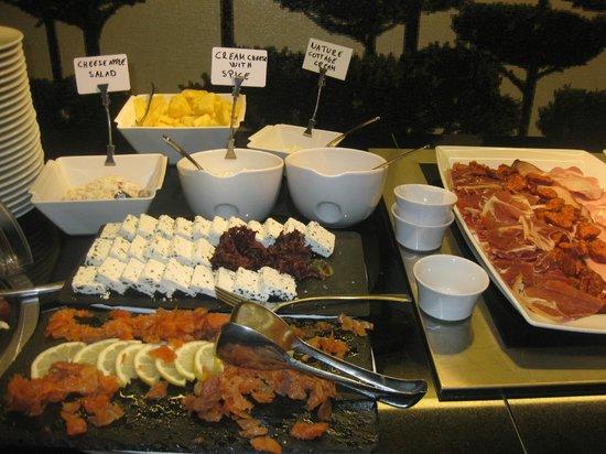 Bohem Art Hotel: Le déjeuner