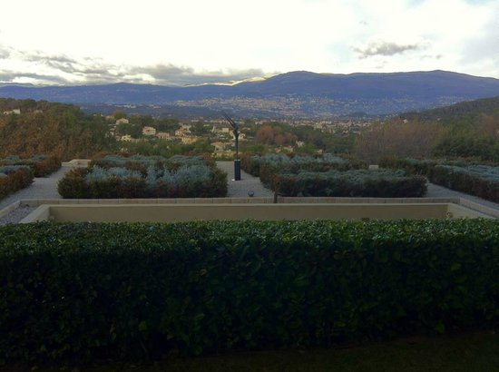 Le Mas Candille : the view from the hotel's terrace