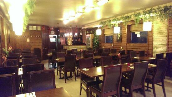 Oriental Home: Inside the restaurant