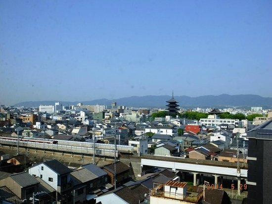 Kyoto Plaza Hotel : View from Room