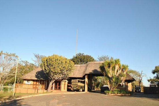 Pestana Kruger Lodge: Entrace to Hotel