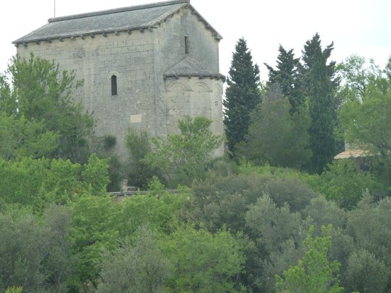 Belvezet Chapel inside Fort Saint-Andre