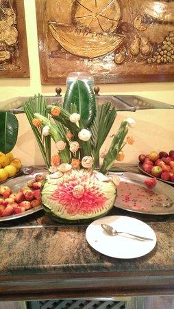 One Resort Monastir: Always plenty of fresh fruit