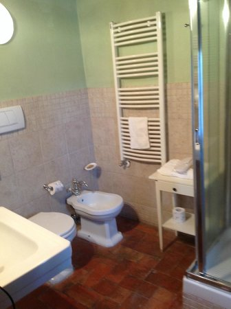 Hotel Palazzo del Capitano Exclusive Wellness & Relais: toilet Gemelli