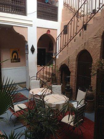 Riad Dubai: De trap naar het dakterras