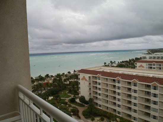 Marriott's Aruba Surf Club : View from Balcony