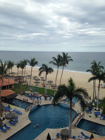Worldmark Coral Baja: View from the rooftop deck in the 2 bedroom penthouse