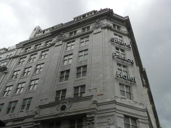 VIEW ON STRAND PALACE HOTEL, JUNE 2014.