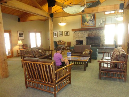 John Muir Lodge: Main Lodge area