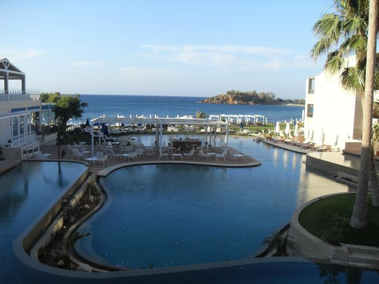 TUI SENSIMAR KALLISTON Resort & Spa by ATLANTICA: from our friends room near to ours