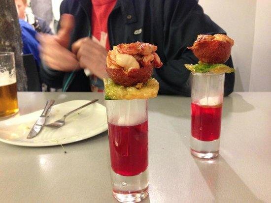 Bar zeruko: Lobster