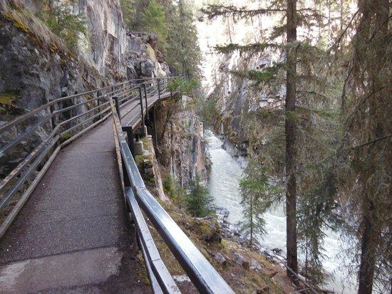 Johnston Canyon : Beautiful Trail!