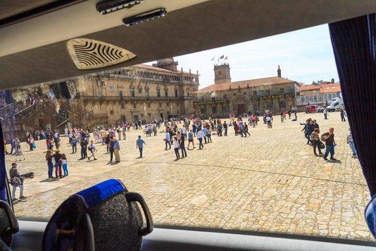 Parador Hostal Dos Reis Catolicos: plaza