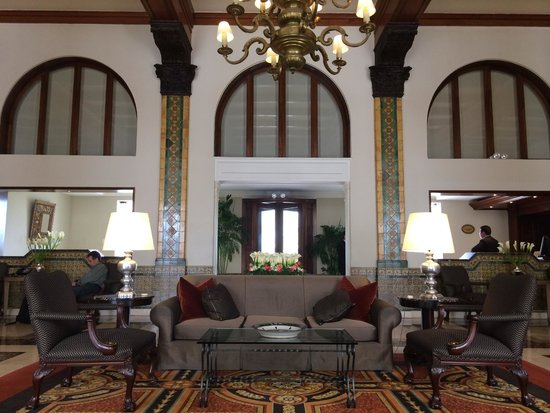 Country Club Lima Hotel: Main lobby area