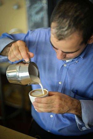 Cafeoteca: Arte latte.
