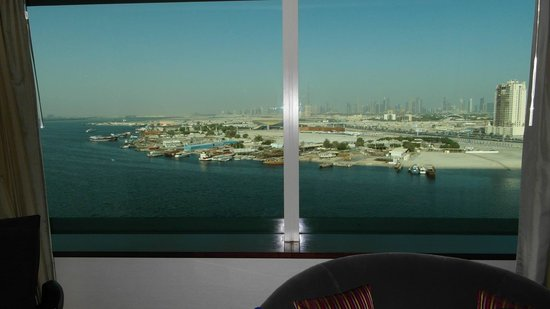 Crowne Plaza Dubai Festival City: Great view from the room
