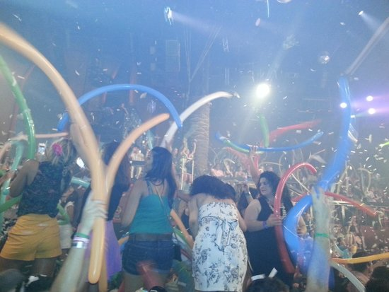 Coco Bongo Cancún: festa!