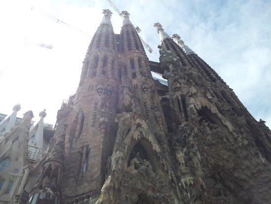 Sagrada Família : Sagrada Familia - Front facade