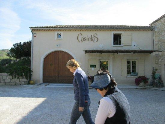 Moulin CastelaS: CastelaS with Mrs Hugue