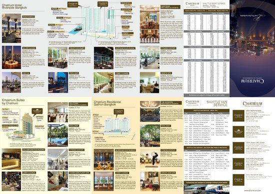 Emporium Suites by Chatrium: Chatrium Hotels Map