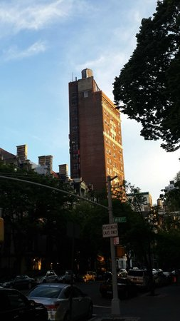Riverside Tower Hotel : Вид из парка Риверсайд