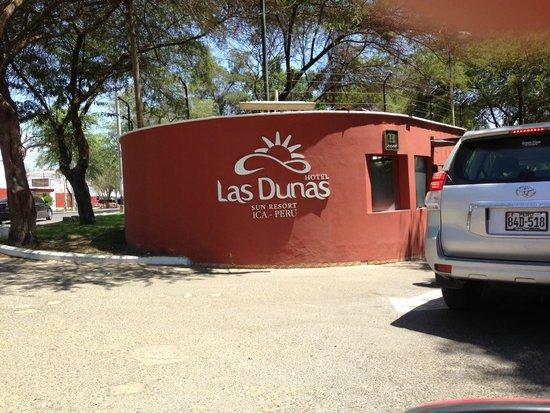 Hotel Las Dunas : Ingreso