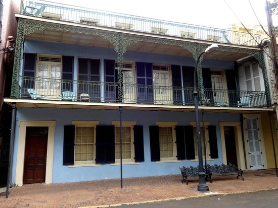 Jean Lafitte House: View of Building Exterior