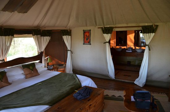 Elephant Bedroom Camp : Interior habitación
