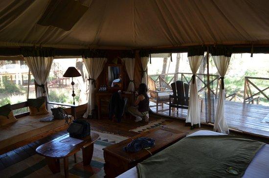 Elephant Bedroom Camp: Habitación