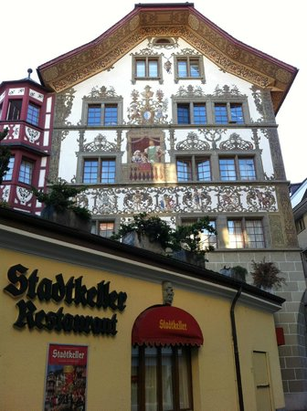 Old Town Lucerne : Discovering the layers of the old town...