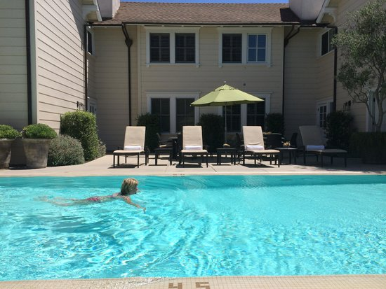 Fess Parker's Wine Country Inn and Spa: Beautiful, quiet swimming pool