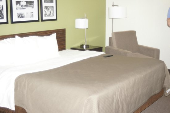 Holiday Inn Express and Suites Colorado Springs First and Main : King Size Comfortable Bed