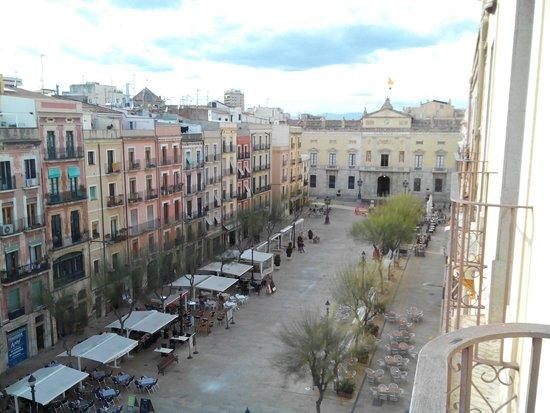 Hotel Placa de la Font: Vistas