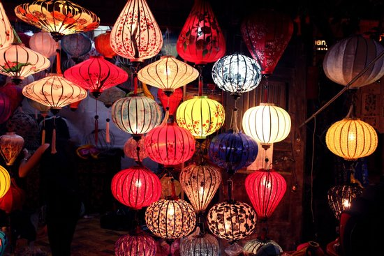 Hoi An Ancient Town: Very nice when illuminated