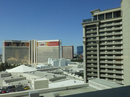 Caesars Palace: The view from a Palace Tower suite