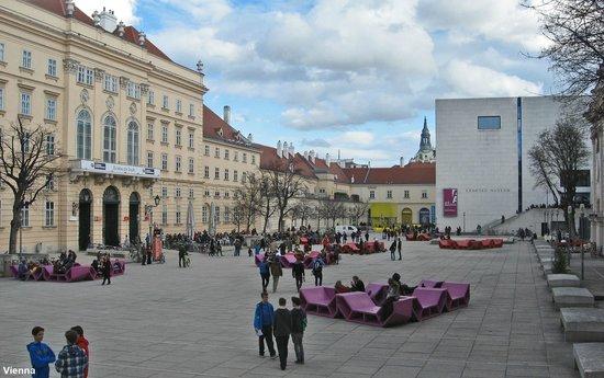 MuseumsQuartier Wien: Вена. Музейный квартал