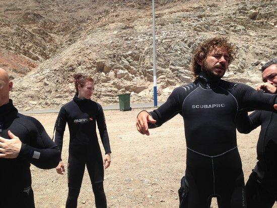 Shulamit's Eilat Diving Adventures: Preparativos para mais um fantástico mergulho...