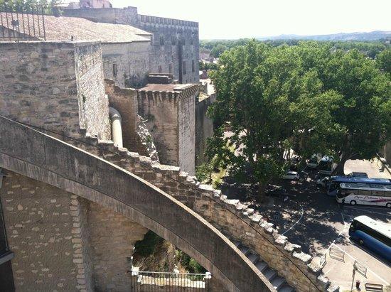 Palais des Papes, Avignon, back facade