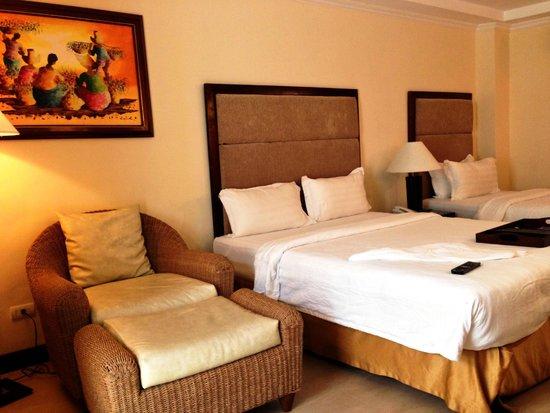 Boracay Mandarin Island Hotel: Deluxe room