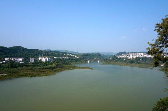 Shi Bao Zhai: View from Pagoda