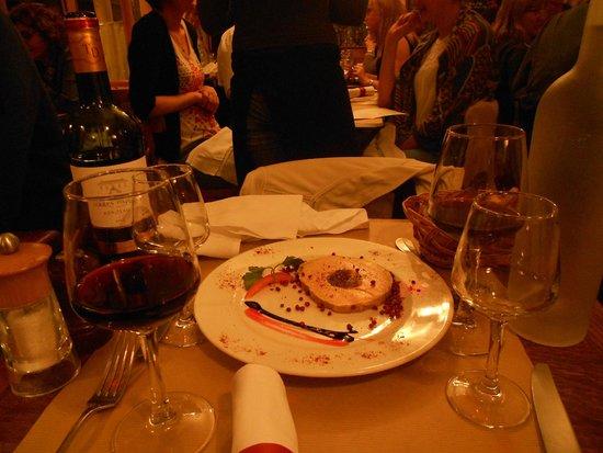 Le Petit Pontoise: Foie gras