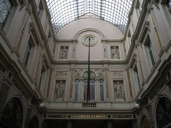 Les Galeries Royales Saint-Hubert : Galerie de la Reine, uma das galerias Saint Hubert.