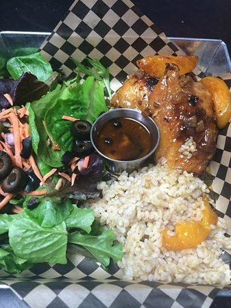 Goodness Gracious Cafe & Catering: Whiskey River Peach Preserve BBQ Chicken