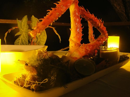 Bedarra Island Resort: Seafood platter