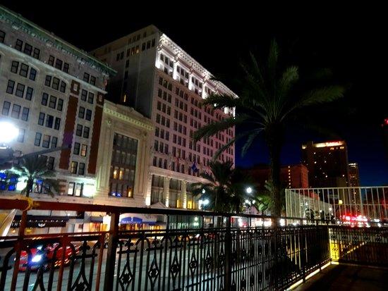 Maison Pierre Lafitte : Balcony View of Ritz Nighttime