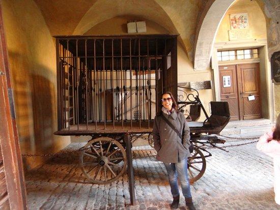 Mittelalterliches Kriminalmuseum: entrada do Museu Medieval do Crime