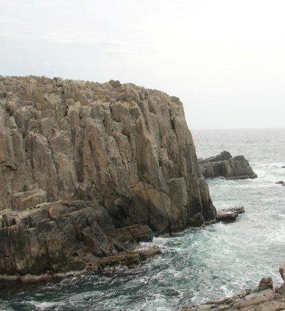 Tojinbo Cliff : Cliffs