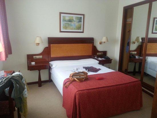 Gran Hotel de Ferrol: Habitación