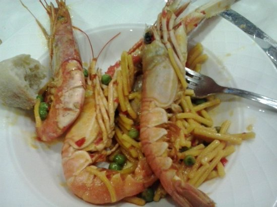 Gran Hotel de Ferrol: Bufet-fideuá